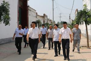 市委常委、组织部长乔朝英到清河慰问调研