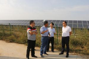 9月13日,县委常委、组织部长贾志强就基层党建重点工作进行调研